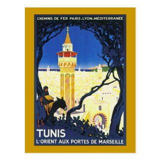 Tunis L Orient Aux Portes de Marseille Post Card