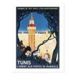 Tunis L'Orient Aux portes de Marsielle Postcard