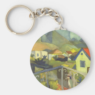 Tunis suburban sun jieruman basic round button key ring