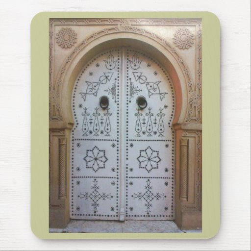 Tunis Traditional Door Mouse Mat