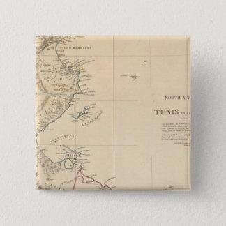 Tunis, Tripoli 15 Cm Square Badge