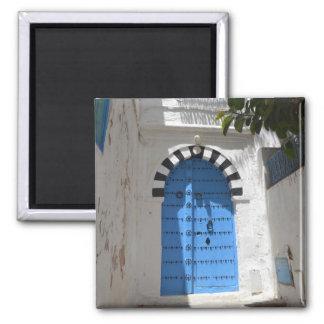 Tunisia 2 Inch Square Magnet