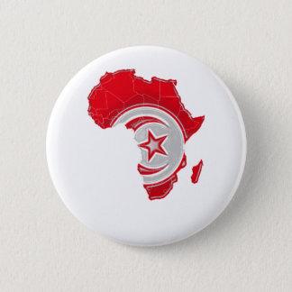 Tunisia 6 Cm Round Badge