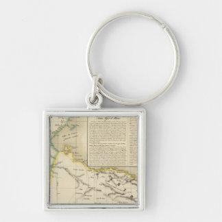 Tunisia and Libya Key Ring