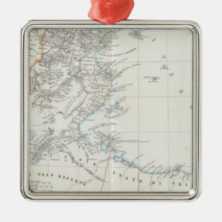 Tunisia and Lybia Christmas Ornament
