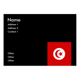 Tunisia Large Business Cards (Pack Of 100)