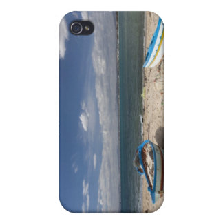 Tunisia, Cap Bon, Hammamet, fishing boats on iPhone 4 Cover