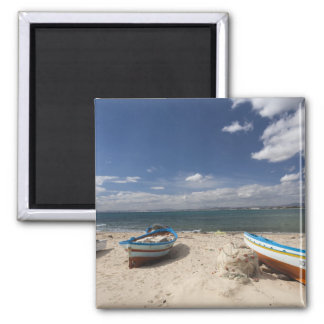 Tunisia, Cap Bon, Hammamet, fishing boats on Magnet