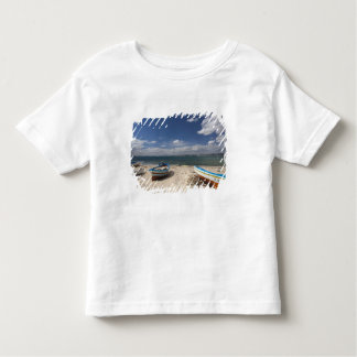 Tunisia, Cap Bon, Hammamet, fishing boats on Toddler T-Shirt