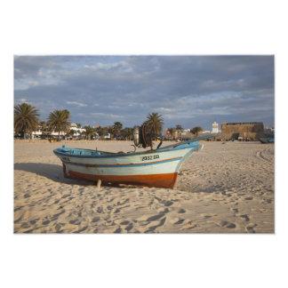 Tunisia, Cap Bon, Hammamet, waterfront, Kasbah Photograph