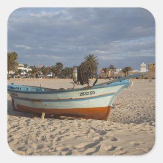 Tunisia, Cap Bon, Hammamet, waterfront, Kasbah Sticker