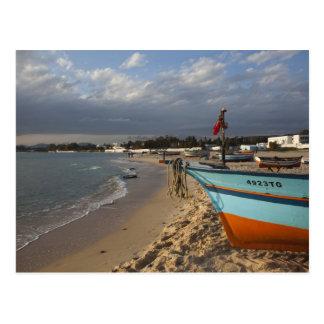 Tunisia, Cap Bon, Hammamet, waterfront, Postcard