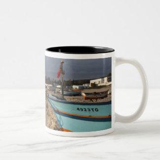 Tunisia, Cap Bon, Hammamet, waterfront, Two-Tone Coffee Mug