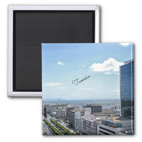 Tunisia cityscape magnet
