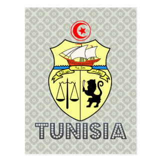 Tunisia Coat of Arms Postcard