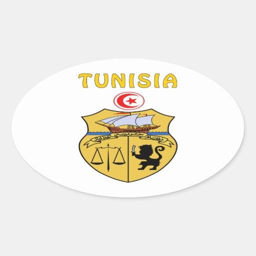 Tunisia Coat Of Arms Sticker