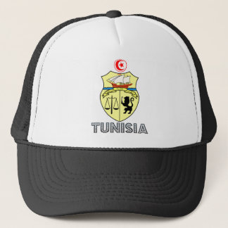 Tunisia Coat of Arms Trucker Hat
