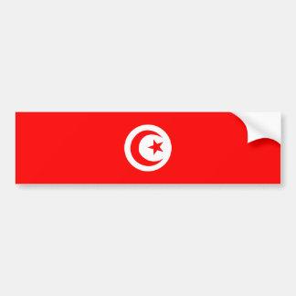 tunisia country flag name text symbol bumper sticker