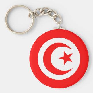 tunisia country flag name text symbol key ring