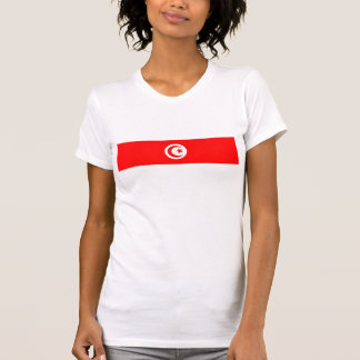 tunisia country flag name text symbol T-Shirt