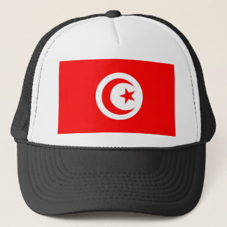tunisia country flag name text symbol trucker hat