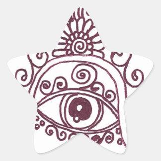 tunisia evil eye henna stickers