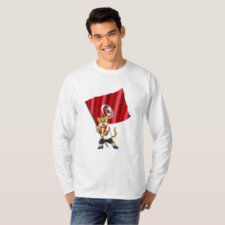 Tunisia fan cat T-Shirt