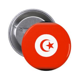 Tunisia Flag 6 Cm Round Badge