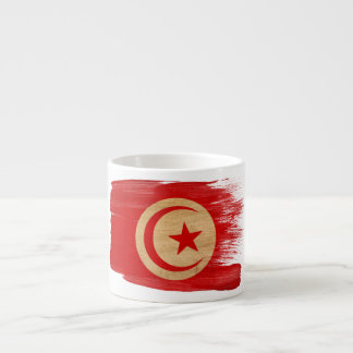 Tunisia Flag Espresso Cup