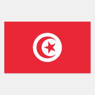 Tunisia Flag Rectangular Sticker