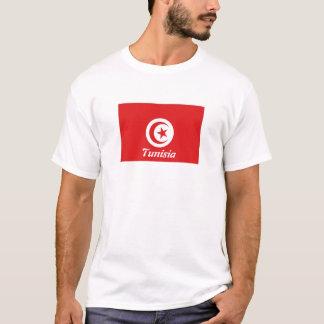 Tunisia flag souvenir tshirt