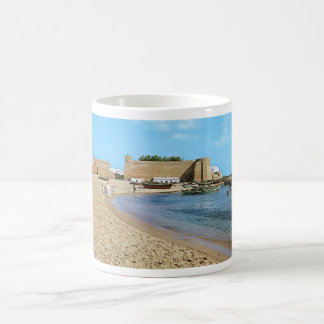 Tunisia  Hammamet Beach 1960's Coffee Mug