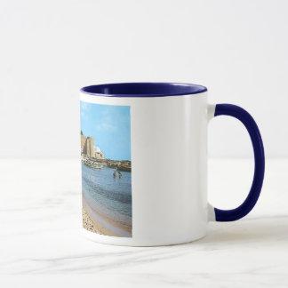 Tunisia  Hammamet Beach 1960's Mug