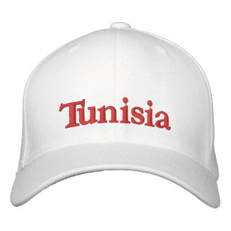 Tunisia HAT Embroidered Hat