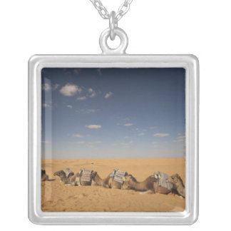Tunisia, Ksour Area, Ksar Ghilane, Grand Erg 2 Silver Plated Necklace