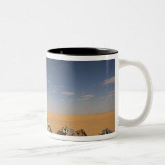 Tunisia, Ksour Area, Ksar Ghilane, Grand Erg 2 Two-Tone Coffee Mug
