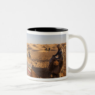 Tunisia, Ksour Area, Ksar Ghilane, Grand Erg 3 Two-Tone Coffee Mug