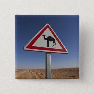 Tunisia, Ksour Area, Ksar Ghilane, Grand Erg 6 15 Cm Square Badge