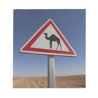 Tunisia, Ksour Area, Ksar Ghilane, Grand Erg 6 Notepad