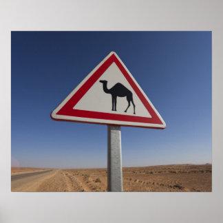 Tunisia, Ksour Area, Ksar Ghilane, Grand Erg 6 Poster