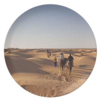 Tunisia, Ksour Area, Ksar Ghilane, Grand Erg 7 Dinner Plates