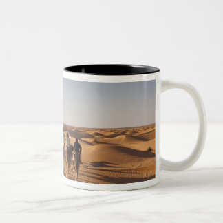 Tunisia, Ksour Area, Ksar Ghilane, Grand Erg 7 Two-Tone Coffee Mug