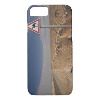 Tunisia, Ksour Area, Ksar Ghilane, Oil Pipeline iPhone 8/7 Case
