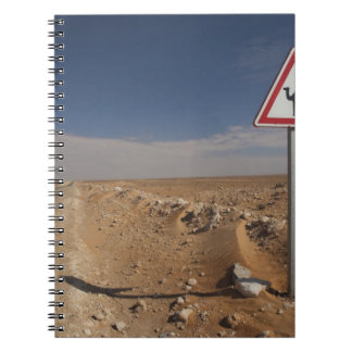 Tunisia, Ksour Area, Ksar Ghilane, Oil Pipeline Notebook