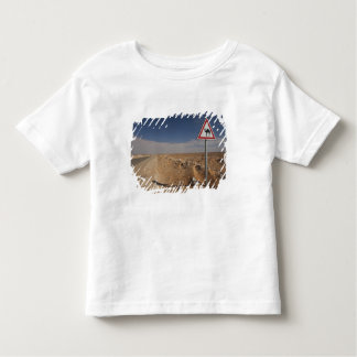 Tunisia, Ksour Area, Ksar Ghilane, Oil Pipeline Toddler T-Shirt