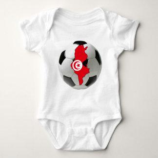 Tunisia national team baby bodysuit