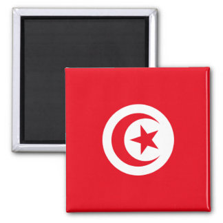 Tunisia National World Flag Magnet