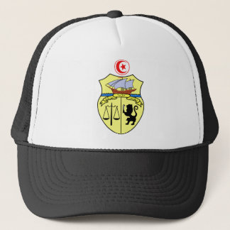 Tunisia Official Coat Of Arms Heraldry Symbol Trucker Hat