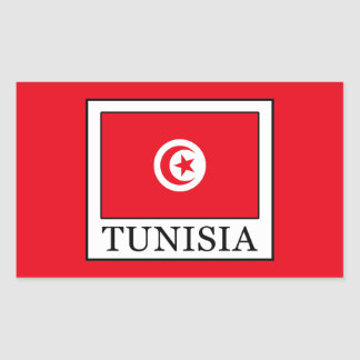 Tunisia Rectangular Sticker