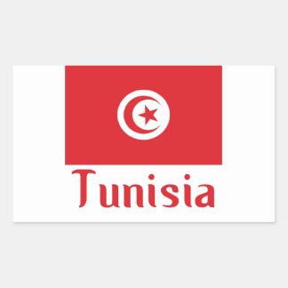 Tunisia Rectangular Sticker
